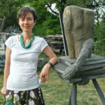 me and my sculpture 2